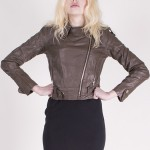 Buy Leather jacket - Short with discount from Modekungen.