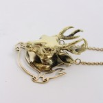 Buy Necklace - Deer by MDKN with discount from Modekungen.