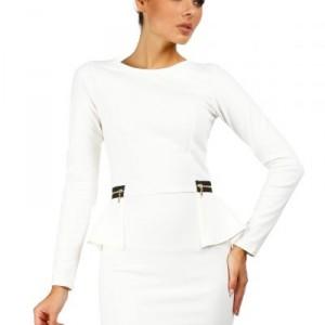 Women-Dresses-discount-MOE040-Mini-peplum-dress-with-zips-ecru-MOE-Fashion.jpg