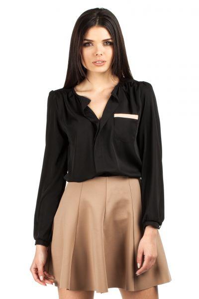 Sheer Long Sleeve Blouse Sheer Long-sleeve Blouse