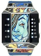 Buy 01The One Split Screen Kristel Lerman Art Edition Unisex Watch #SC116W1 with discount from Watchzone.com.