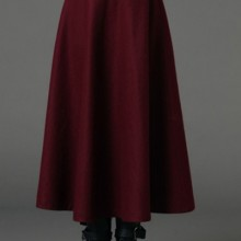 Buy A-line Wool-blend Skirt with discount from OASAP.