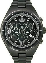 Buy Adidas Aluminum Cambridge Chronograph Black Dial Unisex watch #ADH2576 with discount from Watchzone.com.