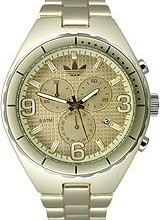 Buy Adidas Aluminum Cambridge Chronograph Gold-tone Dial Unisex watch #ADH2574 with discount from Watchzone.com.