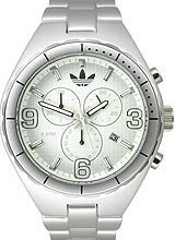 Buy Adidas Aluminum Cambridge Chronograph White Dial Unisex watch #ADH2573 with discount from Watchzone.com.