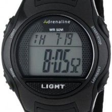 Buy Adrenaline Black/Grey Digital Unisex watch #AD50681 with discount from Watchzone.com.