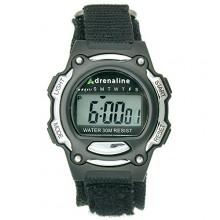 Buy Adrenaline Black/Silver-Tone Digital Women's watch #AD50684 with discount from Watchzone.com.