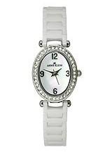 Buy Anne Klein Ceramic Bracelet White Dial Women's Watch #9705MPWT with discount from Watchzone.com.