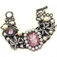 Buy Antique Multi-strand Charm Bracelet with discount from OASAP.