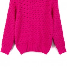 Buy Bejeweled Cutout Sweater with discount from OASAP.