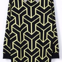 Buy Bejeweled Geo Sweater with discount from OASAP.