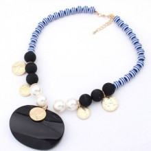 Buy Boho Beaded Necklace with discount from OASAP.