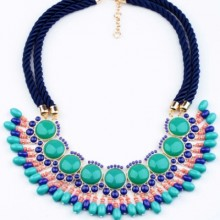 Buy Boho Layer Braided Necklace with discount from OASAP.