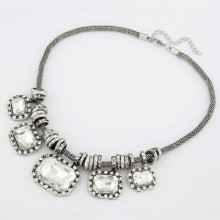 Buy Bold Snake Chain Necklace with discount from OASAP.