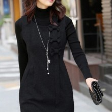 Buy Bowknot Sleeveless Dress with discount from OASAP.