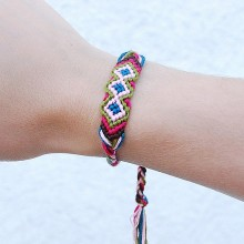 Buy Bracelet - Blue with discount from Modekungen.
