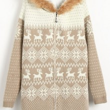 Buy Classic Hooded Thicker Cardigan with discount from OASAP.