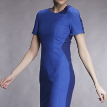 Buy Color Block Paneled Bodycon Dress with discount from OASAP.