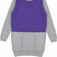 Buy Contrast High-low Sweater with discount from OASAP.