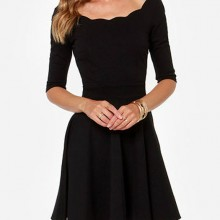 Buy Dress - Flare with discount from Modekungen.