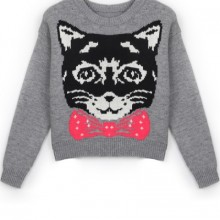 Buy Fireside Cat Sweater with discount from OASAP.