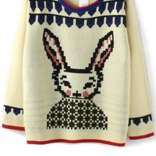 Buy Fireside Rabbit Sweater with discount from OASAP.