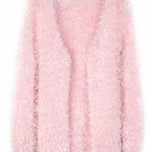 Buy Furry Open Front Cardigan with discount from OASAP.