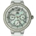 Buy JLO Multifunction Ceramic - White Women's watch #JL/2703WMWB with discount from Watchzone.com.