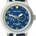 Buy Nautica BFD 103 Blue Canvas Classic Men's watch #N13607G with discount from Watchzone.com.