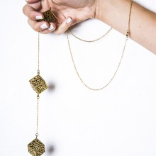 Buy Necklace - Cube by MDKN with discount from Modekungen.