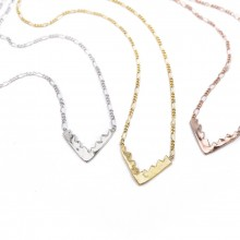 Buy Bigi Saber Necklace. Various Colors. with discount from MrKate.com.