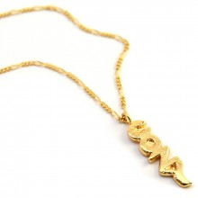 Buy COZY Necklace. Yellow or Rose Gold. with discount from MrKate.com.