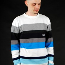 Buy BILLABONG Merchant White Sweater  discounted at GetShoes - German fashion online shop.