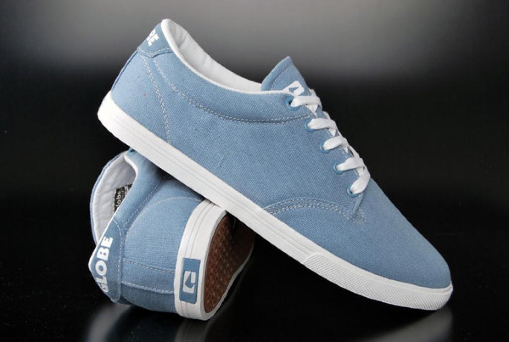 Buy Globe Schuhe Lighthouse Slim Slate Blue Sneaker  discounted at GetShoes - German fashion online shop.