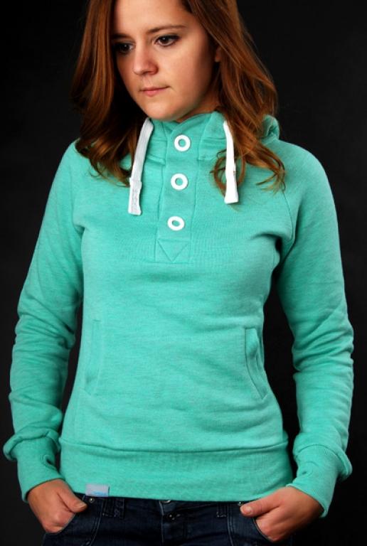 Buy SHISHA Hooded Pearl Girls TurquoiseAsh Pullover Girls  discounted at GetShoes - German fashion online shop.